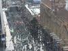 Menschenmassen Quay Street