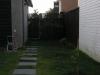 Garden & back entrance