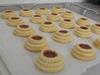 Klassische Etagen-Marmeladenplätzchen