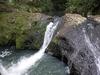 Weiter oben am Wasserfall